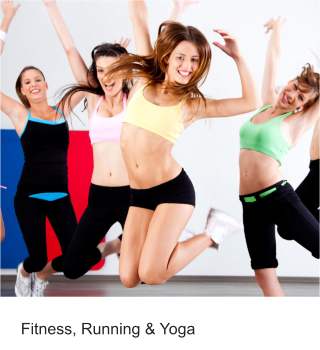 Fitness, Running & Yoga